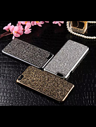 For iPhone 6 Case / iPhone 6 Plus Case Rhinestone Case Back Cover Case Glitter Shine Hard Metal iPhone 6s Plus/6 Plus / iPhone 6s/6