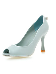 Zapatos de mujer - Tacón Stiletto - Punta Abierta - Sandalias / Tacones - Oficina y Trabajo / Vestido / Casual / Fiesta y Noche -