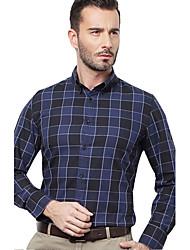 JamesEarl Herren Hemdkragen Lange Ärmel Shirt & Bluse Blau - DA112047104