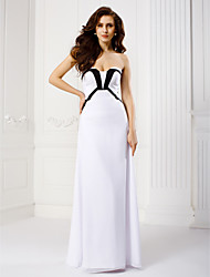 TS Couture® Formal Evening Dress Sheath / Column Strapless Floor-length Chiffon with