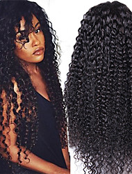 Glueless Curly Full Lace Human Hair Wig Virgin 26Inch Human Hair Glueless Full Lace Wig For Black Women Full Density