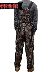 Ourdoor Camouflage Suits , Waterproof Camo Jacket Hunting Suits for Hunting Fishing(Jacket+Suspender Trousers)