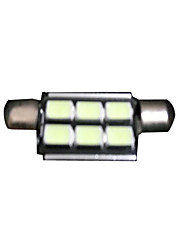 Car LED Lamp Position Lamp Festoon 41MM 5050 9SMD LED Bulb LED Interior Lamp LED Reading Light Car LED Light