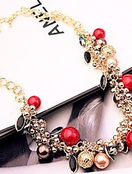 New Arrival Fashion Jewelry Luxury Popular Crystal Pearl Necklace