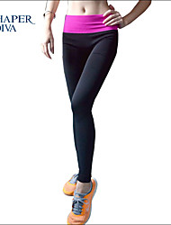 Shaperdiva Women's High Waist Tummy Control Fitness Pants Sports Leggings