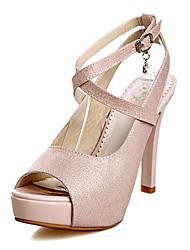 Zapatos de mujer - Tacón Stiletto - Tacones / Punta Abierta / Plataforma - Sandalias -Oficina y Trabajo / Vestido / Casual / Fiesta y