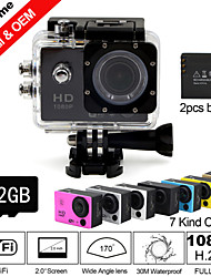 Mount / Protective Case / Wire Cable / Monopod / Charger / Battery / Accessory Kit / Sports Camera / Waterproof Housing / Cable 2 12MP