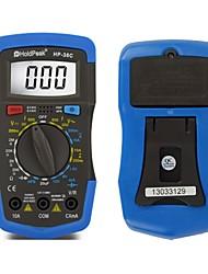 rétro-éclairage numérique multimètre résistance batterie capacité testeur de tension actuelle holdpeak HP-36c