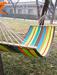 SWIFT Outdoor® 2016 New Hanging Bed Size 280*80cm Spread Foreign Hammock Swing 1.3kgs 80cm Spread Rod
