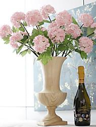"""SoooKu Artificial Hydrangea Flower 2 Big Heads Bounquet (Diameter 3.9"""" Each Heads)"""