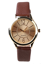 Manufacturers Selling Fashion Women's Watch Brown Belt Cool Watches Unique Watches