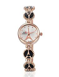 Montre Femme New Quartz Watch Fashion Wrist Watches Eiffel Tower Bracelet Watch Wristwatch Clock Quartz Watch Cool Watches Unique Watches