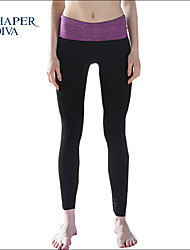 Shaperdiva Women's Running Crop Control Sports Leggings Yoga Pants