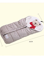 Multifunctional Coral Velvet Baby Infant Autumn Winter Stroller Bag Newborn Sleeping Bag Wrap