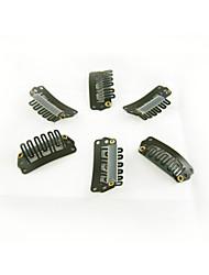 Новый 32 мм U-образный из нержавеющей стали клипы оснастки для наращивания волос перо парики утка DIY - 100 шт / пакет