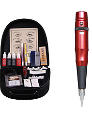 1set  Professional Eyebrow Tattoo Machine Set Eyebrow Tattoo Pen All Include
