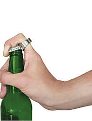 Ring Shape  Portable Stainless Steel Beer Beverage Bottle Opener