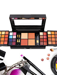 52 Colors Lidschattenpalette Trocken / Matt Lidschatten-Palette Kompaktpuder SetAlltag Make-up / Smokey Makeup / Halloween Make-up /
