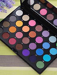 28 Palette Fard à paupières Sec Palette Fard à paupières Poudre Ordinaire Maquillage Smoky-Eye Maquillage de Fête