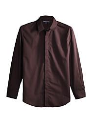 JamesEarl Heren Overhemdkraag Lange mouw Shirt & Blouse Beige - DA112045456