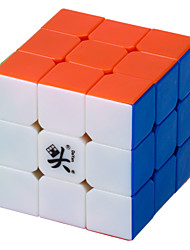50mm 6 Colors 3 Layer Magic Cube (White Edge)  (Black Edge)(Colorful Edge)