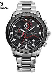 Relógio de Pulso - Homens - Quartz - Aço
