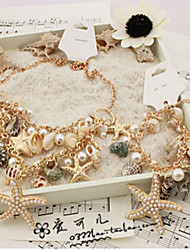Fashion Jewelry Shell Starfish Bracelet
