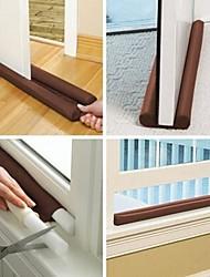 Guard Stopper Twin Door Draft Dodger Energy Save Window Protector Doorstop Decor