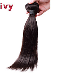 "Vivy 8""-30"" #1B Natural Black Brazilian Remy Hair Extensions Straight Hair Brazilian Hair Virgin Weave Human Hair Bundle"