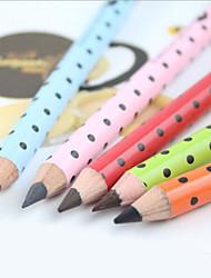 Lápis de Olho Lápis Secos Impermeável / Natural / Secagem Rápida / Sensibilidade e Vermelhidão Preta / Cinza / Marrom / Café Olhos 1 1