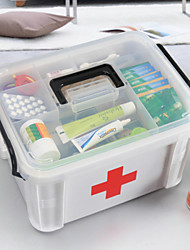 New Family Health Medicine Chest Pill Box First Aid