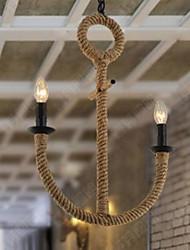 Rustikal LED Korrektur Artikel Metall Pendelleuchten Esszimmer / Eingangsraum / Korridor