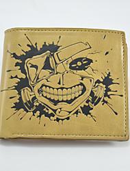 Tokyo Ghoul Cartoon Fashion Wallet Short Students Leather Wallets Men'S Wallet Women'S Wallet