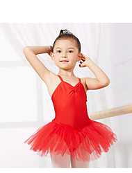 Kids' Dancewear Leotards Children's Training Spandex Blue / Red / Yellow