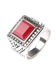 Alliances Amoureux Sans pierre Alliage / Acrylique Alliage / Acrylique 8 / 8½ / 9 / 9½ Noir / Argent / Rouge
