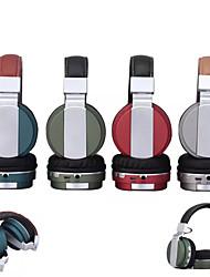 Casque sans fil Bluetooth stéréo écouteurs  pliables kit mains libres avec micro pour Samsung S5 S6