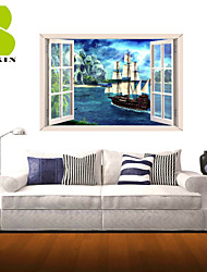 3D Wall Stickers Wall Decals, Transport Decor Vinyl Wall Stickers