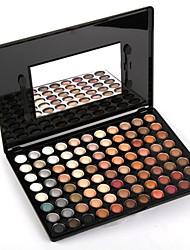 88 Lidschattenpalette Trocken Lidschatten-Palette Puder Groß Alltag Make-up / Smokey Makeup
