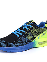 Men's Running Shoes Tulle Blue / Yellow / Red