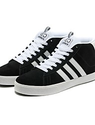 Men's Indoor Court Shoes Tulle Black and White