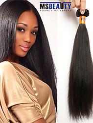 """1 pc / lot 12 """"-22"""" 8a peruanische reine Haar gerade Menschenhaareinschlagfäden 100% unverarbeitetes peruanisches remy Haar spinnt"""