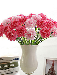 France CARNATION Artificial Flower Silk Flower Western flower for Wedding Home Decoration
