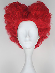 Cosplay Wigs Fairytale Movie Cosplay Red Solid Wig Halloween Christmas New Year Female