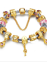 DIY Beaded  Europe Retro Alloy Beaded Bracelets