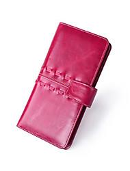 Minaudière / Portefeuille / Etui à Carte & Pièce d'Identité / Porte-chéquier / Mobile Bag Phone - Double Portefeuille - Bleu / Fuchsia -