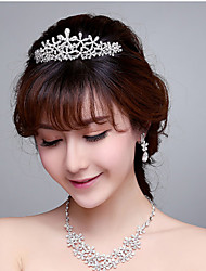 Starfish Rhinestone / Alloy Headpiece - Wedding / Special Occasion Tiaras