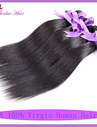 Virgin Indian hair Straight 7A Indian virgin hair Mixed Length unprocessed Indian hair bundles