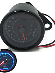 Universal Motorcycle  Dirt Bike Tachometer 0~13000RPM Tacho Gauges for Honda Yamaha Suzuki Kawasaki Ducati