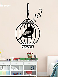 AWOO® New  Cage Pattern Wall Decoration Fashion Wall Stickers Home Decor 3D Wallpaper for Living Room