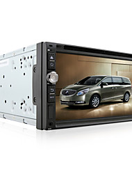 DVD Player Automotivo - 2 Din - 800 x 480 - 6,95 Polegadas